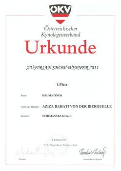 ÖKV-Urkunde klein